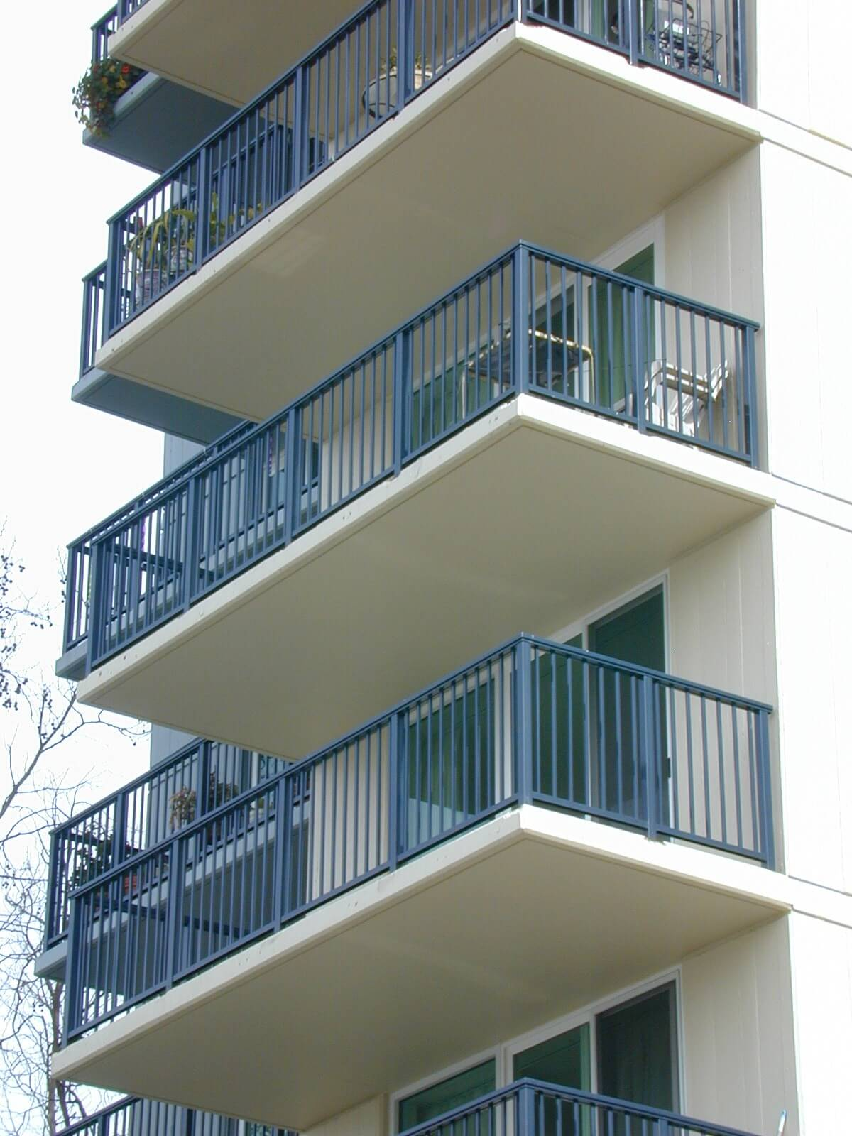 residential railing installation