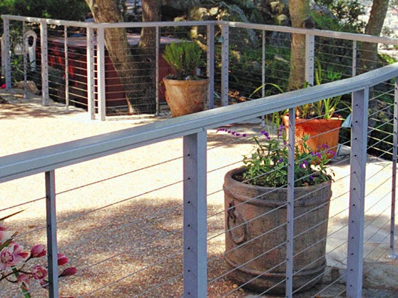 our professional contractors finished a railing installation in San Francisco