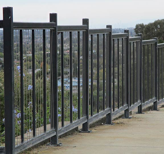 installed cable railings with high-quality cables