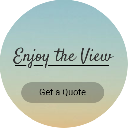 Enjoy the view - get a quite