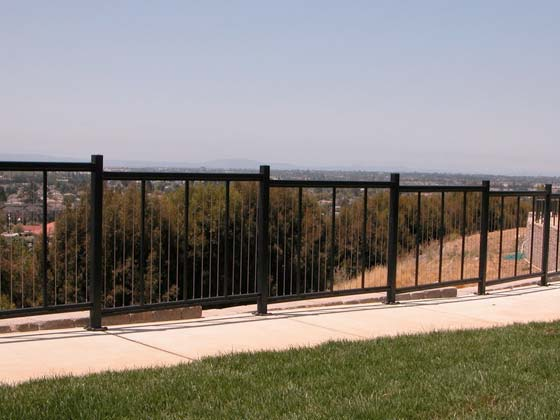 finished job on a property by your railing contractor in Mountain View