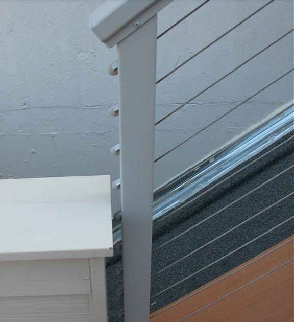 a cable railing system offers a lot of advantages