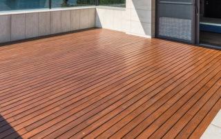 how to care for a cedar deck